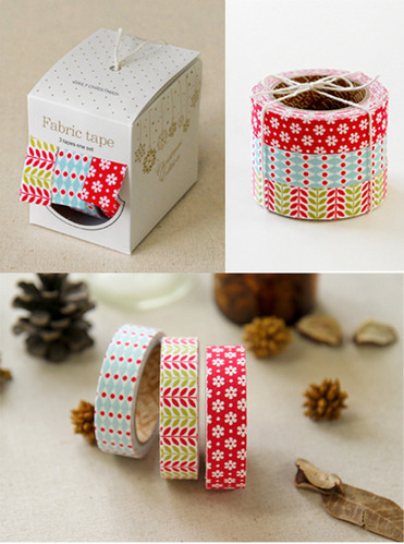 Fabric tape 3p set - 27 daily